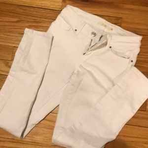 Levis   WHITE 711 Skinny Jeans